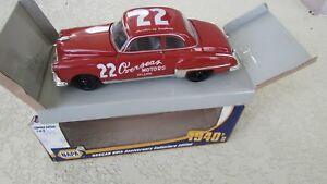 1949 Oldsmobile 88 Course Voiture Rouge Byron #22 Nascar Gn Stock Napa Séries 1