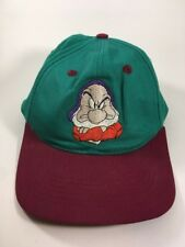 Vintage Grumpy Hat Cap Youth Snow White and the Seven Dwarfs 1994 Disney Video
