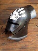 Medieval Dwarves Uruk-Hai Helmet Helmet LOTR Halloween Costume
