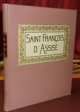 R. Boutet de Monvel SAINT FRANCOIS D'ASSISE Limited edition 1/1700 Copies 1921
