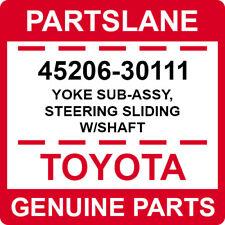 45206-30111 Toyota OEM Genuine YOKE SUB-ASSY, STEERING SLIDING W/SHAFT