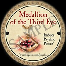 True Dungeon Token - Medallion of the Third Eye
