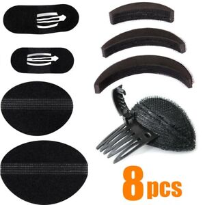 Invisible Fluffy Hair Pad Sponge Clip Forehead Hair Volume Comb DIY Styling