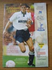 05/12/1992 Tottenham Hotspur v Chelsea  (Slight marked On Front)