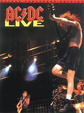 AC/DC Live Learn to Play Heavy Metal Guitar TAB Music Book