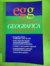 EGG.ENCICLOPEDIA GEOGRAFICA.GARZANTI 1995