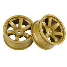 705 HSP HPI 1:10 Model On-Road Car Tires  RC Wheel Plastic Rim offset 6mm X4PCS