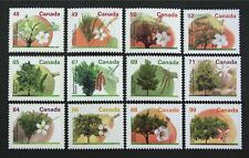 CANADA 1991-95 Fruits Trees #1363-74 complete set of 12 stamps Mint NH
