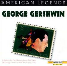 American Legends: George Gershwin by George Gershwin (CD, Mar-1996, Laserlight)