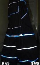 Raver ore Techno Hardstyle Tanz Hose fluoreszierend Shuffle DJ PHAT Pants n16