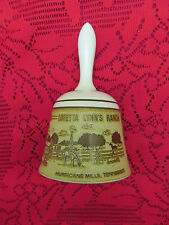 Collectible Stoneware Pottery Bell Loretta Lynn'S Ranch Tennesse Made In Japan