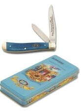 Schrade Trapper pocket knife Civil War Anniversary Commemorative in Tin case