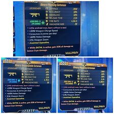 [PS4] Borderlands 3 - Cutsman - set of 3 Anointed SNTNL 100% Cryo DMG God Roll