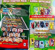 Mega Starter Pack Adrenalyn XL 2020 2021 Raccoglitore Cards Calciatori