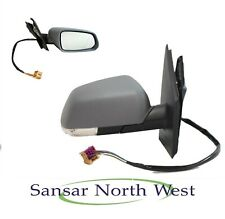 VW Volkswagen Polo MK4 Drivers Door Mirror Electric Heated Primed O/S RIGHT