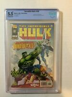 Incredible Hulk #449 CBCS 5.5* 1st App of The Thunderbolts Marvel 1997