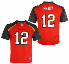 Nike NFL Youth Tampa Bay Buccaneers Tom Brady #12 Game Team Jersey