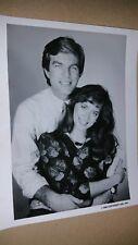 ALL MY CHILDREN original 1986 ABC press photo PETER BERGMAN & BARBARA KEARNS