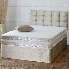 Medium Firm Velvet Beds with Mattresses