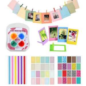 For Fujifilm Instax Mini 11 Instant Camera Stickers + Filters + Photo Frame