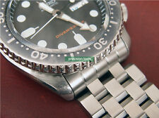 Curve End Stainless Steel Replacement 22mm Engineer Bracelet For Scuba SKX007