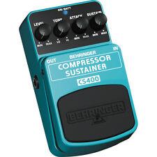 Behringer CS400 Compressor Sustain Guitar Pedal