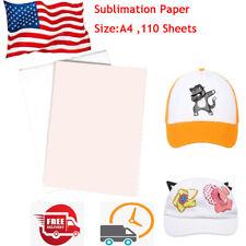 110 Sheets A4 Sublimation Transfer Paper Sublimation Printing Paper T Shirt Mug