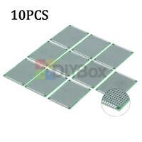 10Pcs Double Side 5x7 cm Tinned PCB Circuit Board Prototype Universal Breadboard