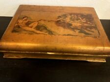 THE CREATION OF ADAM by MICHELANGELO on Silverware Case Box Collectible Art 16""