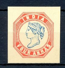 INDIA FOURNIER FORGERY 4  ANNAS VICTORIA NO GUM   MARKED FAUX   @1