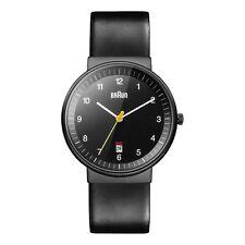 Braun Men's BN0032BKBKG Classic Analog Display Quartz Black Watch
