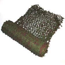 Brise vue/Filet de Camouflage VERT NEUF au mètre(soit un peu plus de 2M carré)