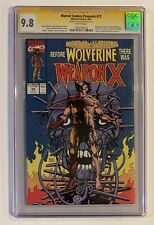 Marvel Comics Presents #72 CGC SS 9.8 • SIGNED HUGH JACKMAN • Weapon X Wolverine