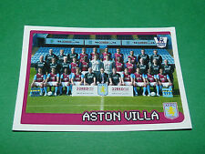 N°47 ASTON VILLA TEAM ENGLAND MERLIN PREMIER LEAGUE FOOTBALL 2007-2008 PANINI