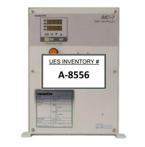 Komatsu Electronics 20000310 AIC-7 Temperature Controller AIC-7-6-T3 Working