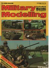 MILITARY MODELLING magazine - November 1981