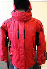 NORTH ICE AIRTEX Norway Jacket Waterproof Breathable Hooded Snow Red S. M EUR