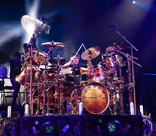 Neil Peart- RUSH (LIVE) (original photo) LIMITED - Clockwork Angels  2014
