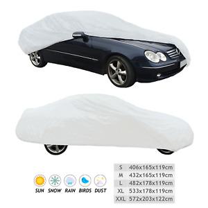 Cubierta de coche Premium Impermeable Resistente Elástico Universal XL