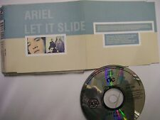 ARIEL Let It Slide – 1993 UK CD – House – BARGAIN!