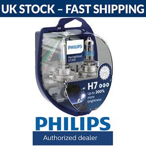 Philips RacingVision GT200 Racing Vision GT 200 Car Headlight Bulbs H7 (Twin)