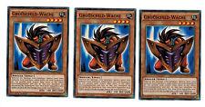 Yugioh 3 X (3 Karten) Großschild-Wache YGLD-DEB14, Common, Playset