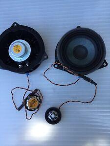 Bmw F15 F16 X5 X6 Logic7 Door Speakers And Tweeters Top Hifi  9277836   9286368