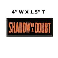 2x3 Biker Patch Sew On When In Doubt Throttle It Out