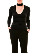 Finders Keepers  Cozy Cute Roll Neck Knit Jumper Black S RRP $140 BCF710