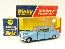 Dinky Toys GB 1/43 - Rolls Royce Phantom V Bleue 124