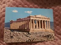Athens - The Parthenon - Vintage Postcard
