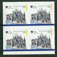 4 x Bund 2245 Viererblock VB SK sauber postfrisch BRD 2002 Selbstklebende MNH