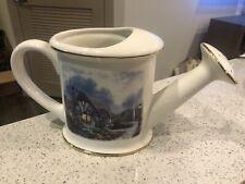 Thomas Kinkade Watering Pot - Great Condition