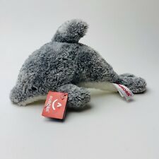 "Aurora Gray Bottled Nose Dolphin 10"" Toy Stuffed Animal Plush with Tags"